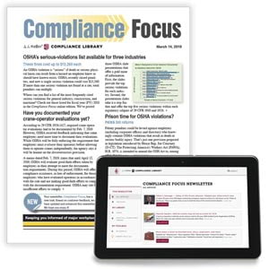 Compliance Focus Newsletter