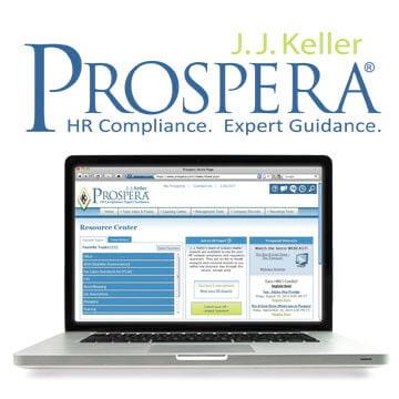 Prospera® Online Service for HR Compliace