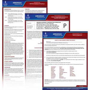 Arkansas & Federal Electronic Labor Law Poster Management Service