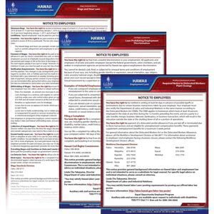 Hawaii & Federal Electronic Labor Law Poster Management Service