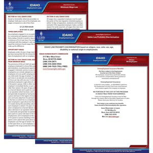 Idaho & Federal Electronic Labor Law Poster Management Service