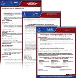Illinois & Federal Electronic Labor Law Poster Management Service