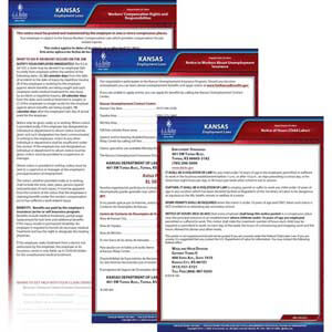 Kansas & Federal Electronic Labor Law Poster Management Service
