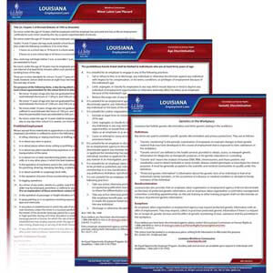 Louisiana & Federal Electronic Labor Law Poster Management Service