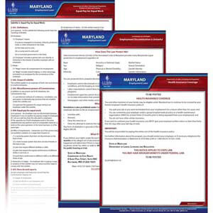 Maryland & Federal Electronic Labor Law Poster Management Service