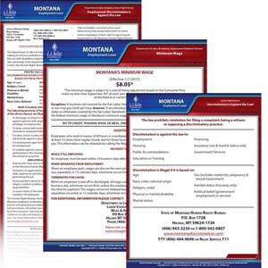 Montana & Federal Electronic Labor Law Poster Management Service