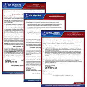 New Hampshire & Federal Electronic Labor Law Poster Management Service