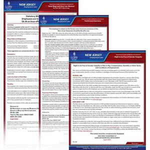 New Jersey & Federal Electronic Labor Law Poster Management Service