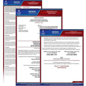 Nevada & Federal Electronic Labor Law Poster Management Service