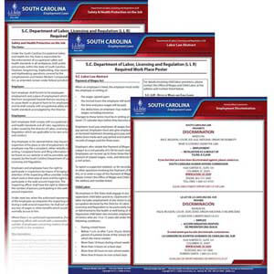South Carolina & Federal Electronic Labor Law Poster Management Service