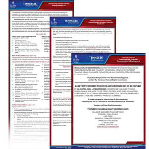 Tennessee & Federal Electronic Labor Law Poster Management Service