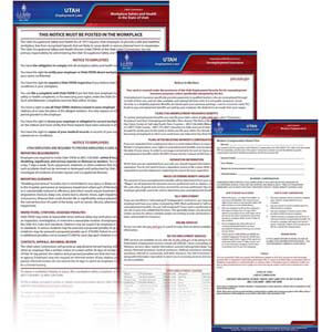 Utah & Federal Electronic Labor Law Poster Management Service