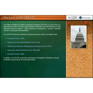 Federal Contracting (OFCCP) Primer - Online Training Course