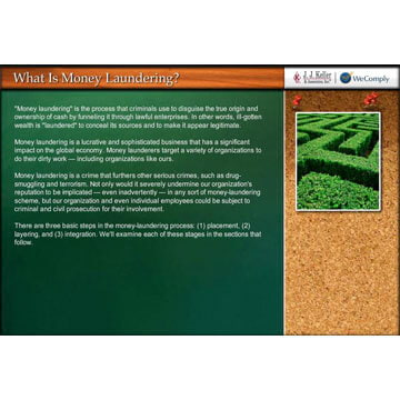 Money Laundering - Online Training Course