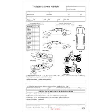 Vehicle Descriptive Inventory