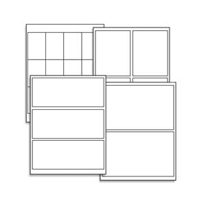 Blank Labels - Sheets