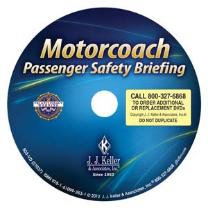 Motorcoach Passenger Safety Briefing - DVD Training