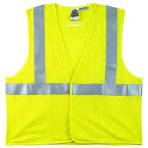GloWear® Type R Class 2 Flame-Resistant Modacrylic Mesh Safety Vest