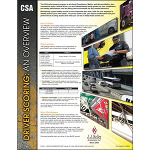 CSA Driver Scoring: An Overview Poster