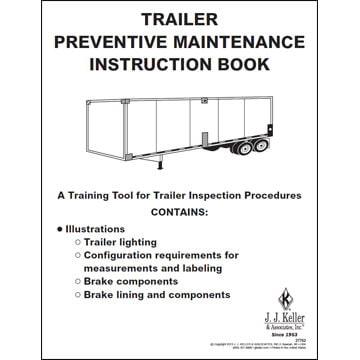 Trailer Preventive Maintenance Inspection Instruction Book