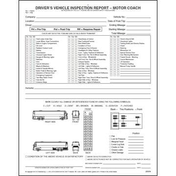 Performance coaching j j keller associates inc for Motor vehicle inspection report