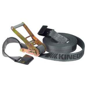 Rhino Web™ Heavy-Duty Ratchet Strap w/Flat Hooks - 2' Wide