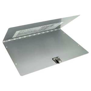 Slim Aluminum Trailer Document/Registration Holder