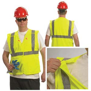SafetyGear™ by PIP Type R Class 2 Breakaway Safety Vest