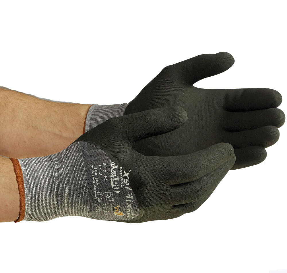 MaxiFlex® Ultimate™ 3/4-Dip Micro-Foam Nitrile Coated Seamless Knit Glove
