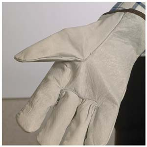 Top Grain Cowhide Leather Driver Glove - Straight Thumb