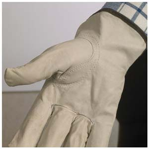 Top Grain Cowhide Leather Driver Glove - Keystone Thumb