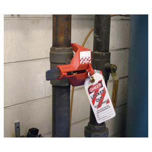 "STOPOUT® Ball Valve Lockout - For 3/8"" to 1-1/4"" Valves"