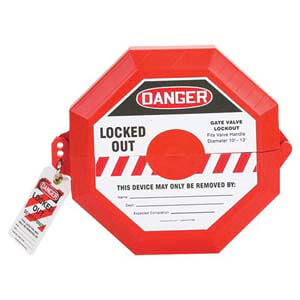 STOPOUT® Gate Valve Lockout - 5' to 6-1/2'