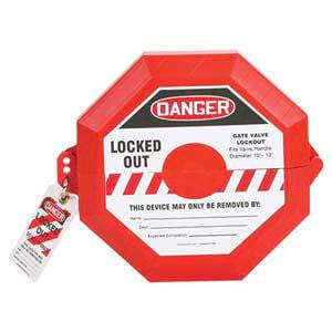 STOPOUT® Gate Valve Lockout - 6-1/2' to 10'