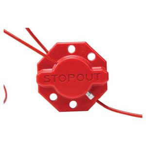 STOPOUT® Twist 'n Lock Cinch Lockout Hasp
