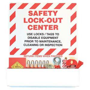 STOPOUT® Lockout Center - Aluminum Pocket Board