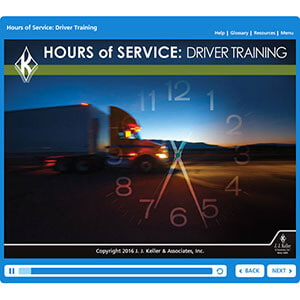 Hours of Service Driver Training - Online Training