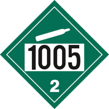 1005 Placard - Division 2.2 Non-Flammable Gas