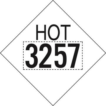 3257 Elevated Temperature Liquid HOT Marking