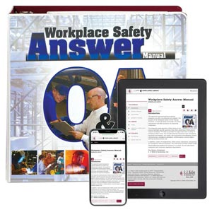 Workplace Safety Answer Manual