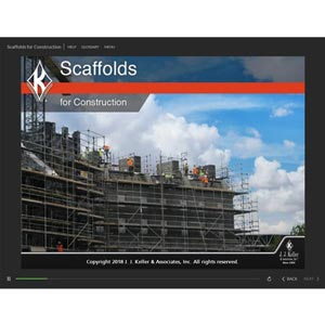 Scaffolds for Construction - Online Training Course