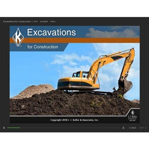 Excavations for Construction - Online Training Course