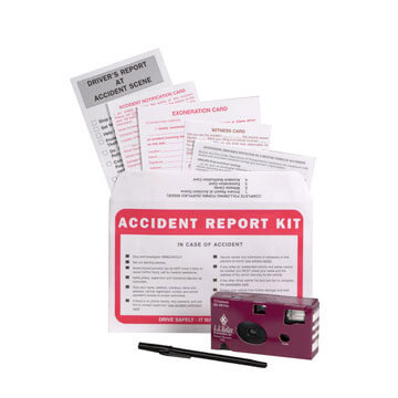 Accident Compliance Kit in Poly Bag w/ 35mm Film Camera