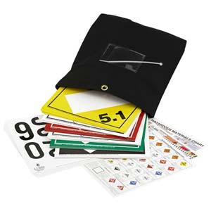 Numbered Tagboard Placard Kit