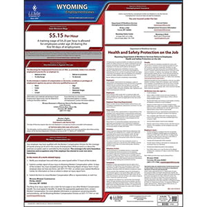 2019 Wyoming & Federal Labor Law Posters