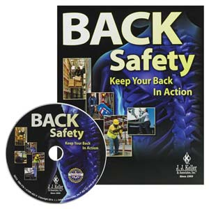 Back Safety: Keep Your Back In Action - DVD Training