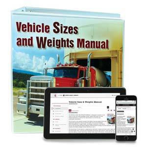 Vehicle Sizes & Weights Manual