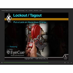Lockout/Tagout: Put a Lock on Hazardous Energy - Online Training Course