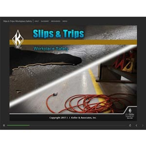 Slips & Trips: Workplace Safety - Online Training Course
