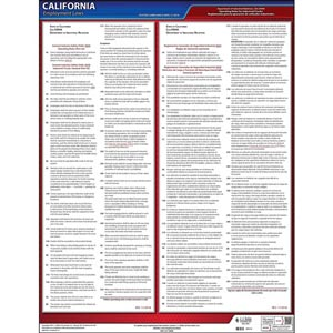 CAL/OSHA Operating Rules for Industrial Trucks (GISO 3650) Poster